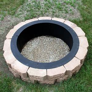Make, Your, Own, Steel, Fire, Pit, Rim, In, Ground, Liner, Build, Your, Own, Outdoor, Firepit, Sunnydaze