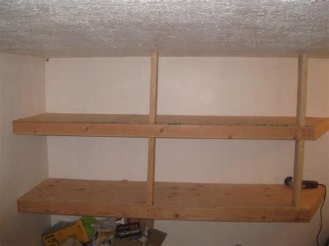 shelves for garage 20 diy garage shelving ideas guide patterns