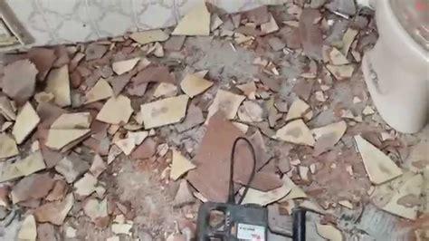 Fliesen Entfernen Einfach by Einfach Fliesen Entfernen Mit Dem Bohrhammer Eine