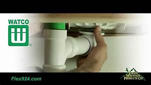 Watco Innovator Flex924 Complete Bath Drain Installation