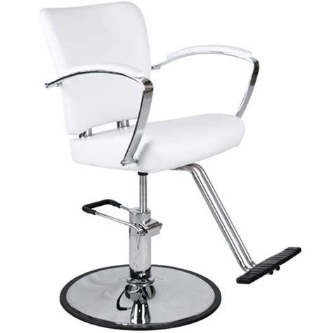 modern white hydraulic styling chair salon equipment