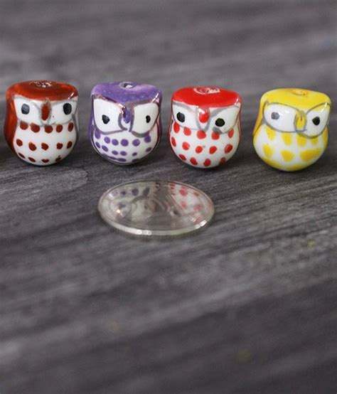 am駭agement mini cuisine mini owl porcelain figurines ecoponics