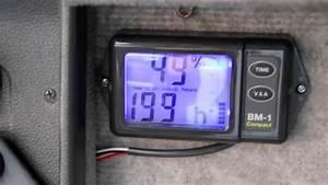 Nasa Bm-1 Compact Campervan Battery Monitor