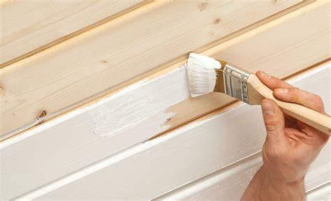 Holzvertäfelung Decke Streichen by Holzdecke Streichen Mit Aqua Holz Isolier Und Deckfarbe