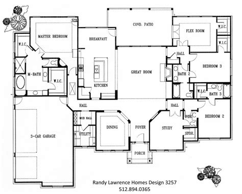 Unique New Homes Floor Plans  New Home Plans Design