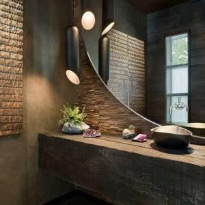 Miroir Mural Design Grande Taille : 76 id es avec un miroir grand format ~ Teatrodelosmanantiales.com Idées de Décoration