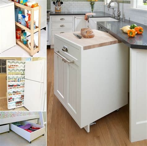 10 Clever Roll Out Storage Ideas For Your Home