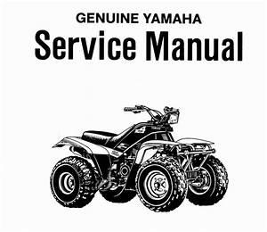 Yamaha Moto 4 Yfm200dxw Service Manual