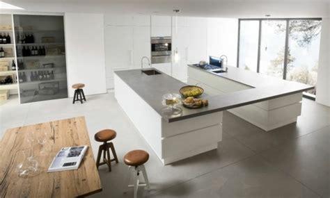 cuisine en t 107 idées de îlot central de cuisine fonctionnel et convivial