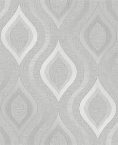 Fine Decor Quartz Geo Silver Grey Wallpaper FD41968