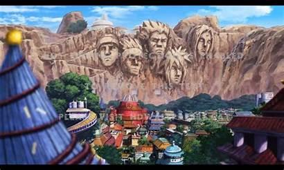 Naruto Anime Konoha Village Hidden Scenery Wallpapers