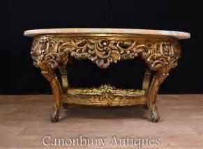 louis xvi table gilt coffee table oval louis xvi
