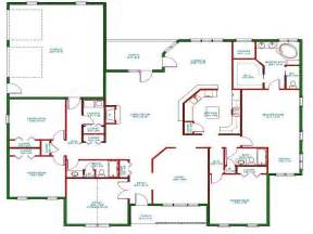 1 story house plans with wrap around porch one story house plans one story house plans with open