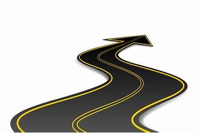 Road Vector Arrow Roadmap Shape Clipart Illustration