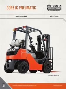 Toyota Forklift 8fg Wiring Electrical Diagram Manual