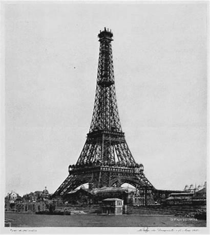 Eiffel Tower Paris Tour Monument Animation Construction