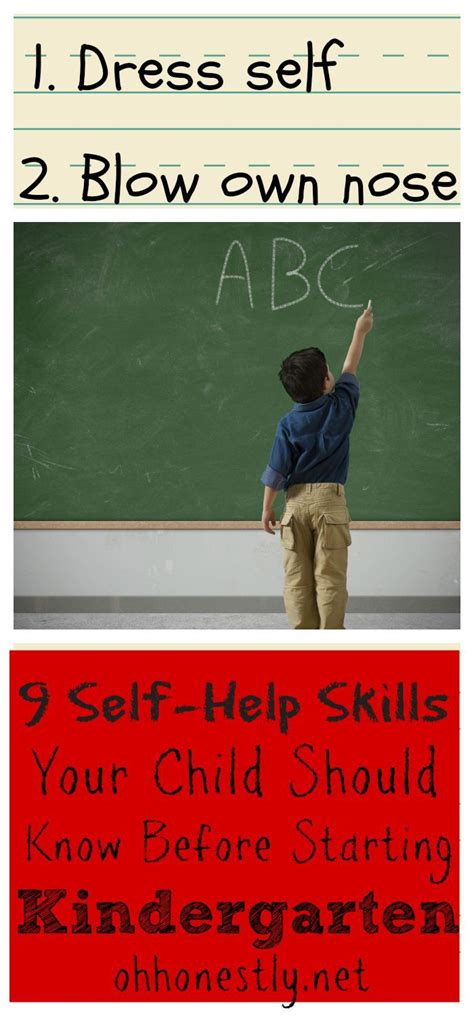 9 self help skills your child should before starting 348 | 166b73598d9a1401f2e2306296dab3ad