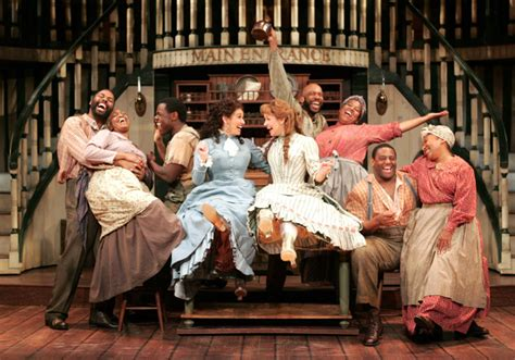 Show Boat Cast by Goodspeed Musicals Show Boat