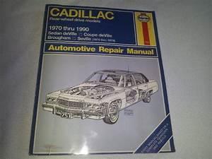 Buy Haynes Cadillac Rear Wheel Drive Models 1970 Thru 1990