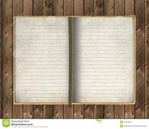 Old Notebook On Wooden Background Royalty Free Stock Image ...