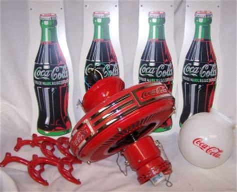 coca cola light fixture 1997 coke coca cola ceiling fan light fixture model cd 5201