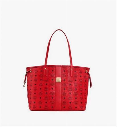 Liz Reversible Shopper Visetos Medium Mcm Mcmworldwide