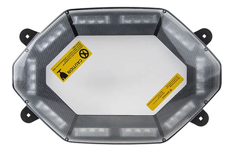 emergency led light bar 360 degree strobing led mini