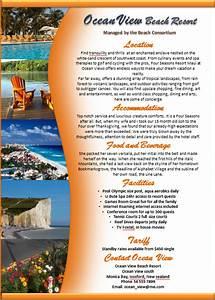 Make a Brochure - Factsheet that Rocks - Microsoft Word ...