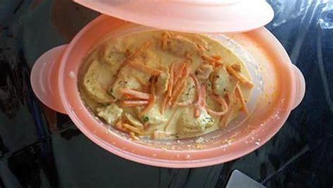 recette de cuisine micro onde recette de papillote de poulet exotique au micro onde