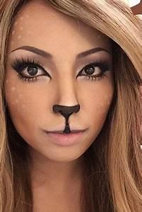 Make Up Ideen : make up 2018 15 einfache einfache halloween make up ~ Buech-reservation.com Haus und Dekorationen