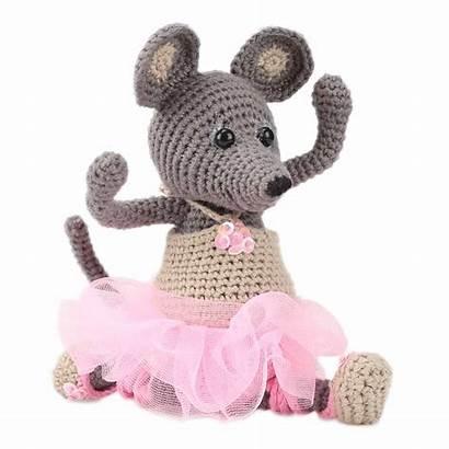 Amigurumi Souris Ella Crochet Kits