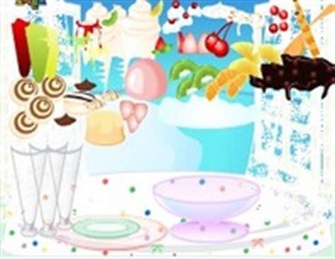 jeux de cuisine dessert jeux de glace