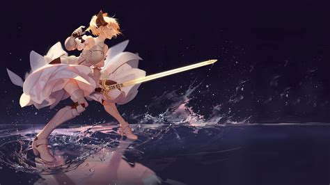 saber lily laptop full hd p hd  wallpapers