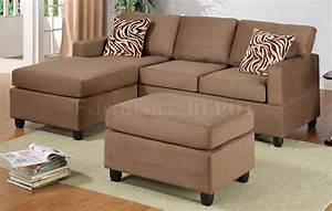 high quality microfiber sectional sofa with ottoman 10 With small sectional sofa with ottoman