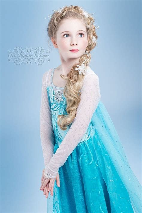 original ella dynae custom elsa costume disney frozen