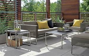 Salon Exterieur Design : d co jardin moderne astuces pour une oasis verdoyante ~ Teatrodelosmanantiales.com Idées de Décoration