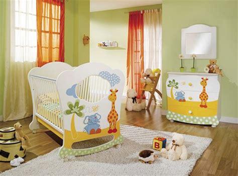 chambre bébé unisex cuartos decorados para bebes