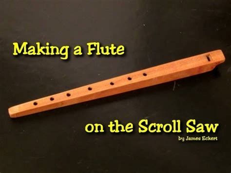 making  wooden flute youtube