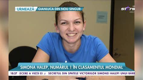 Homepage of Simona Halep