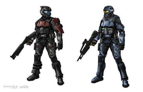 Halo 3 Odst Concept Art Concept Art World
