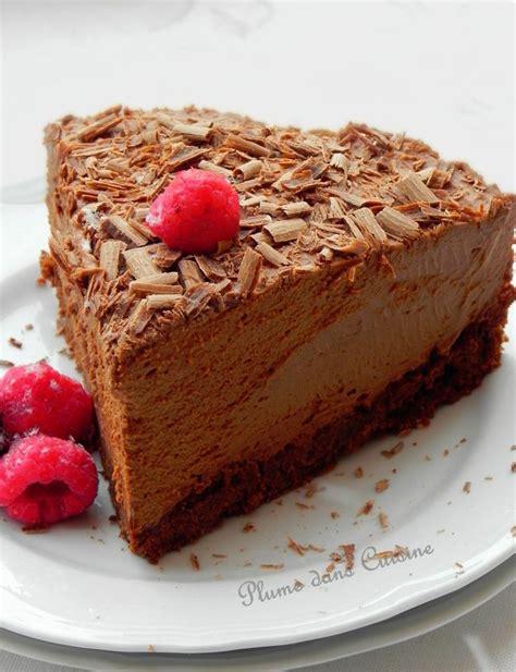 une plume dans la cuisine gâteau mousse au chocolat tout à fait exquis une plume