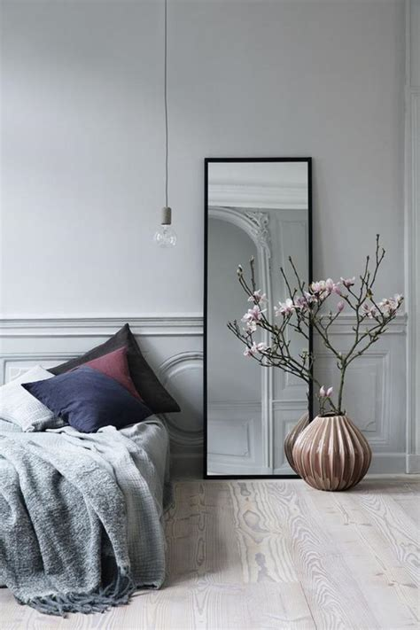mirroir chambre comment réaliser une déco avec un miroir design