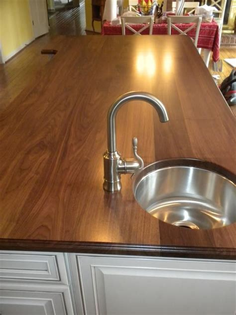 Made Countertops by Made Walnut Countertop By Chesapeake Cabinet And