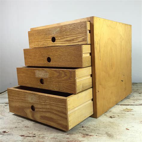 petit rangement tiroir bois petit classeur en bois 4 tiroirs retrocite vintage antiquit 233 montreal
