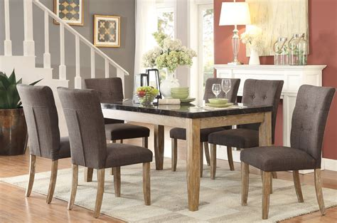 Homelegance Huron Gray Dining Room Set  Huron Collection