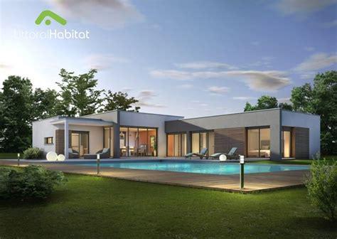 modele de maison moderne toit plat mc immo