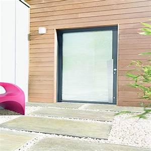 porte d39entree isolante en aluminium a vitrage With porte d entrée isolante