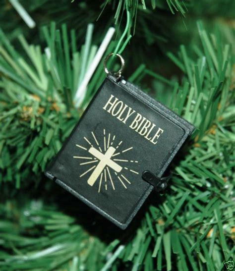 christmas holy bible vakyam pictures small holy bible ornament ebay