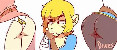 Zelda Diives Link Princess Botw Legend Ssbu