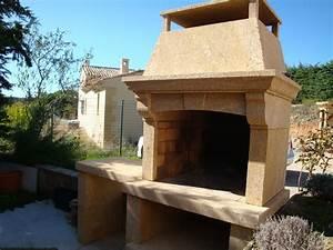 Pierre Du Gard : barbecue en pierre du gard aix en provence tailleur de ~ Dode.kayakingforconservation.com Idées de Décoration